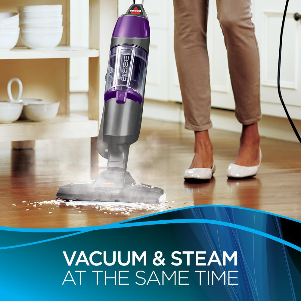 BISSELL Symphony Pet All-in-One Vacuum and best steam mop in Canada
