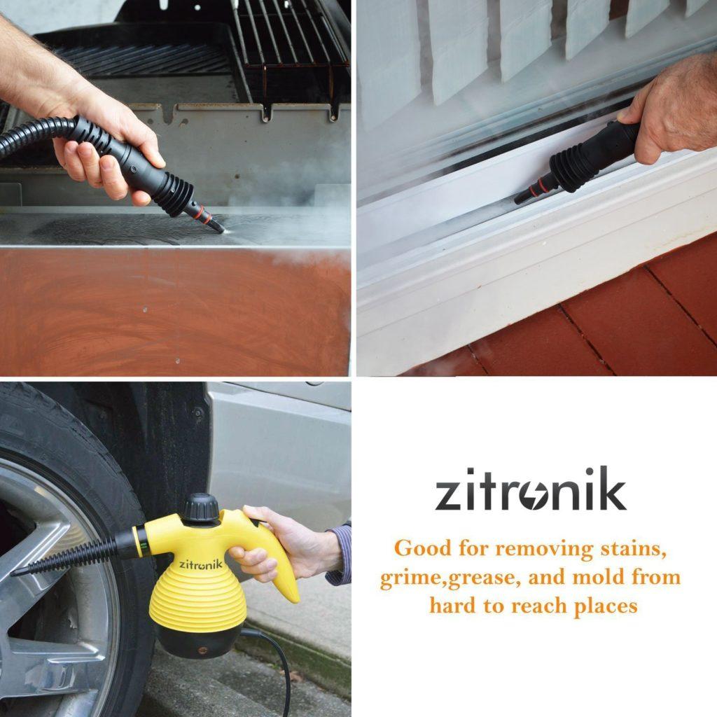 Zitronic handheld steam cleaner