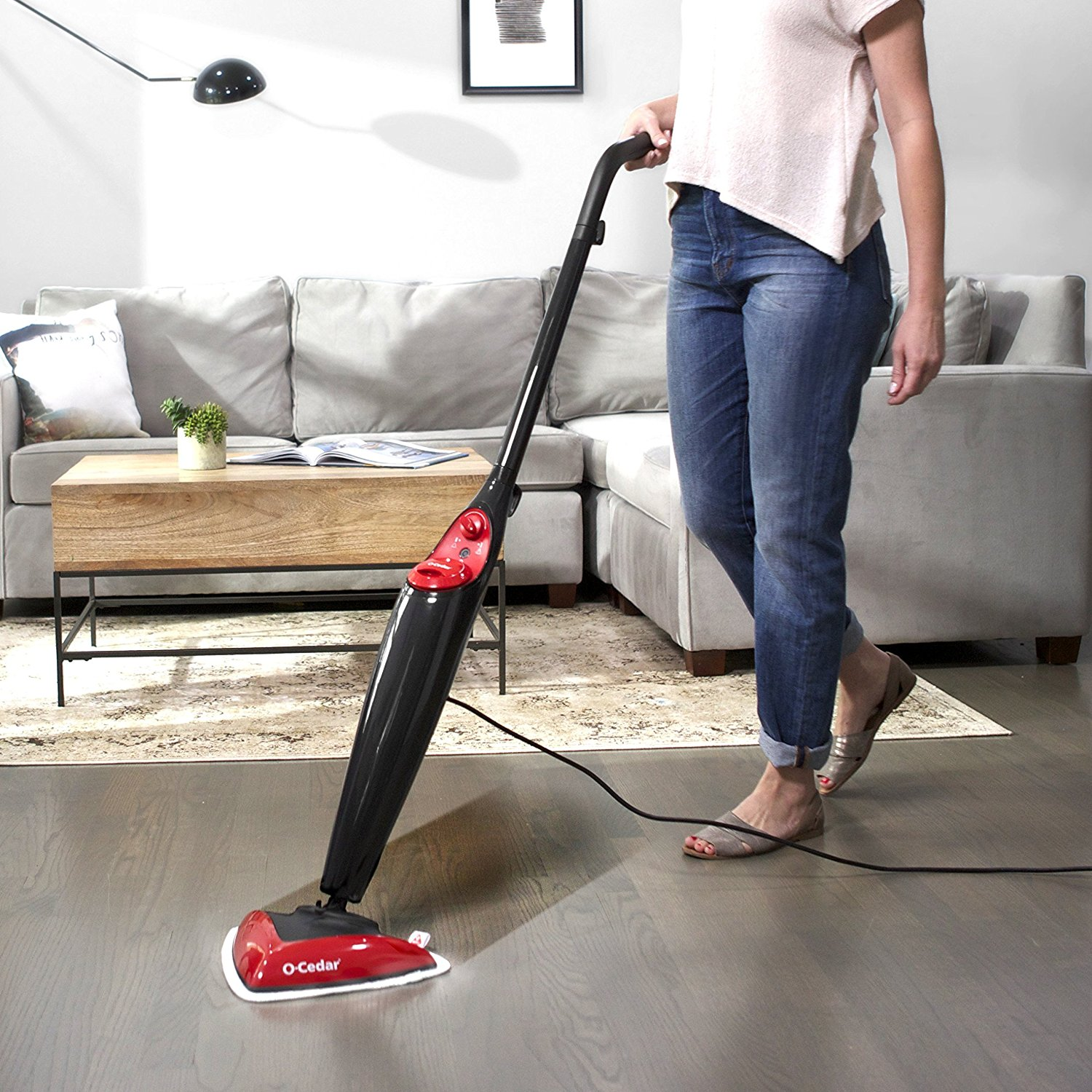 O-Cedar Best Steam Mops for Hardwood Floors