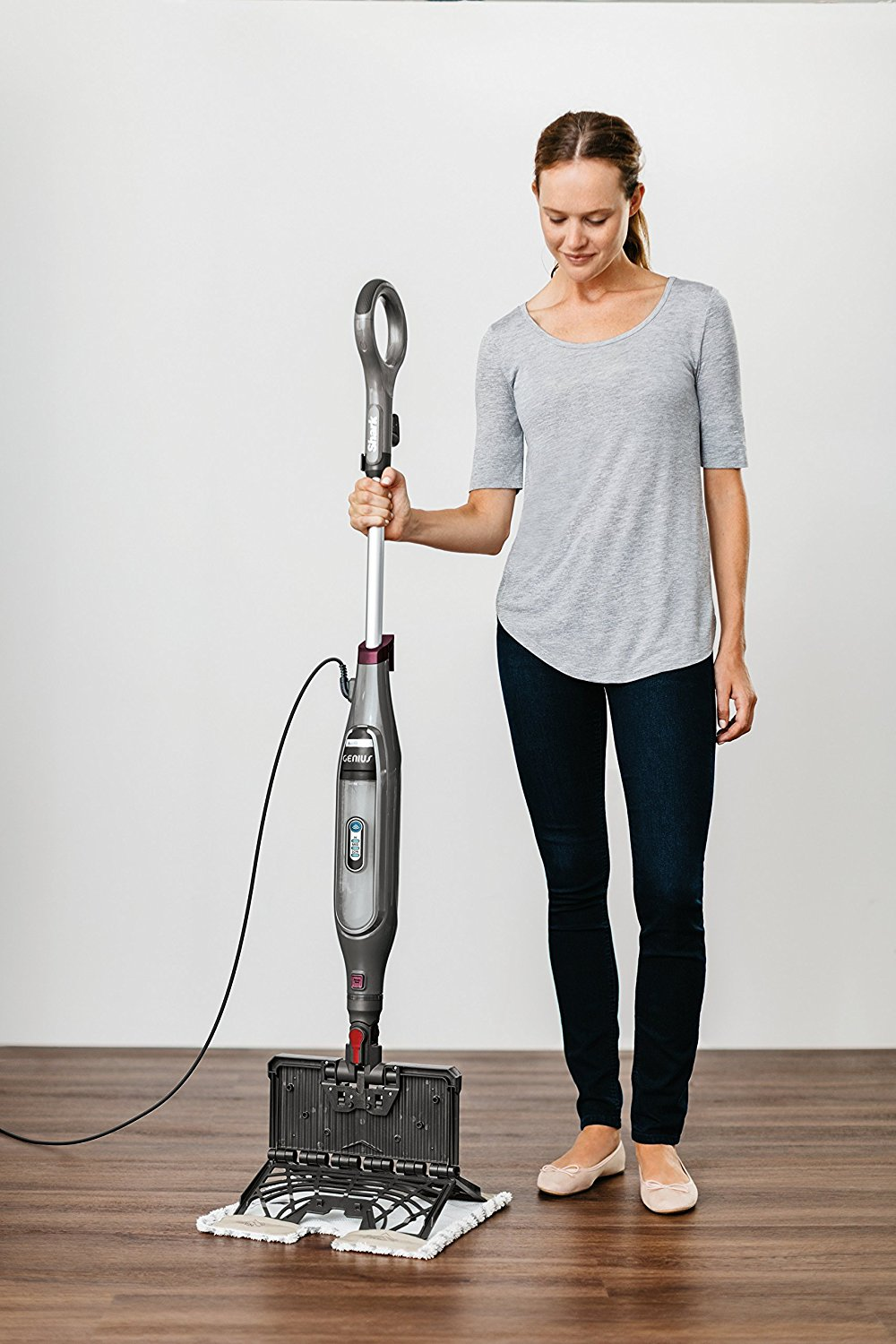 shark genius steam mop slate floors