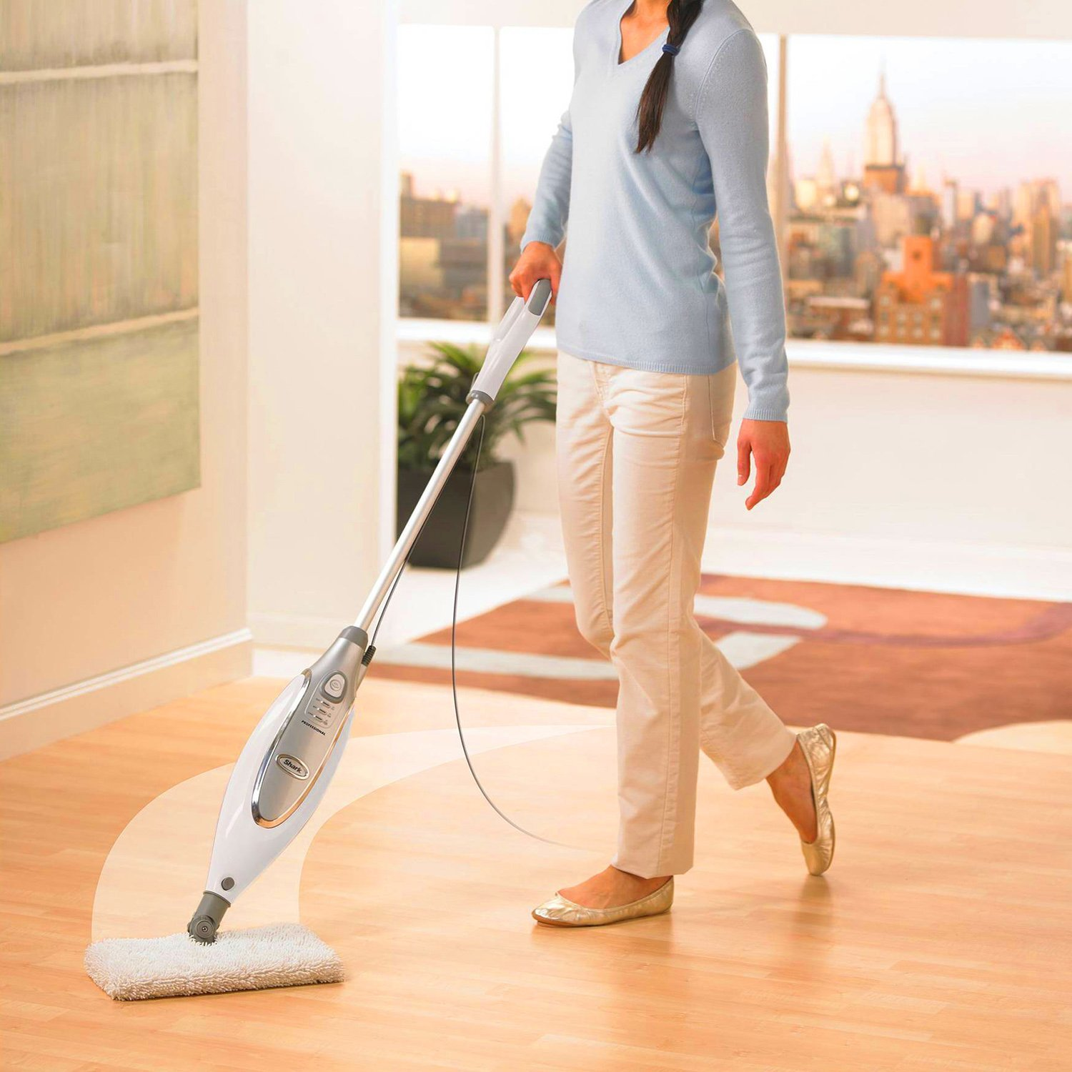 Shark Professional Steam Pocket Mop No Chemicals
