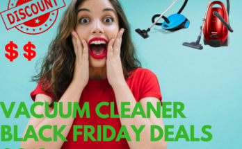 Vacuum Cleaner Black Friday Deals 2020