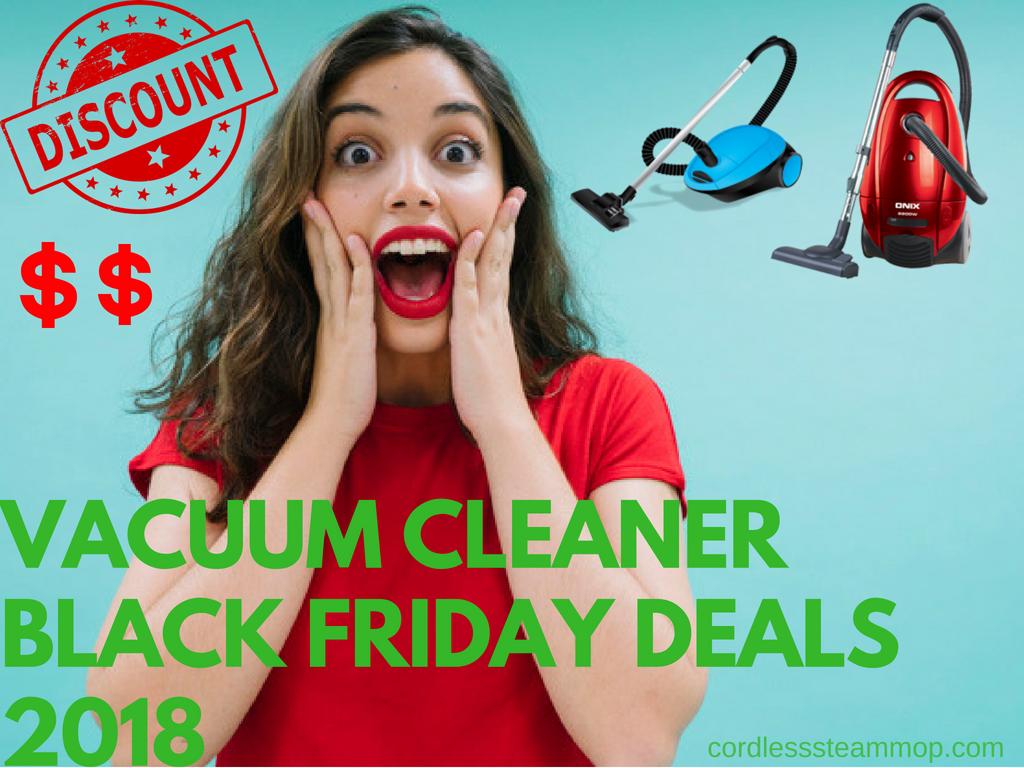 Vacuum Cleaner Black Friday Deals 2019