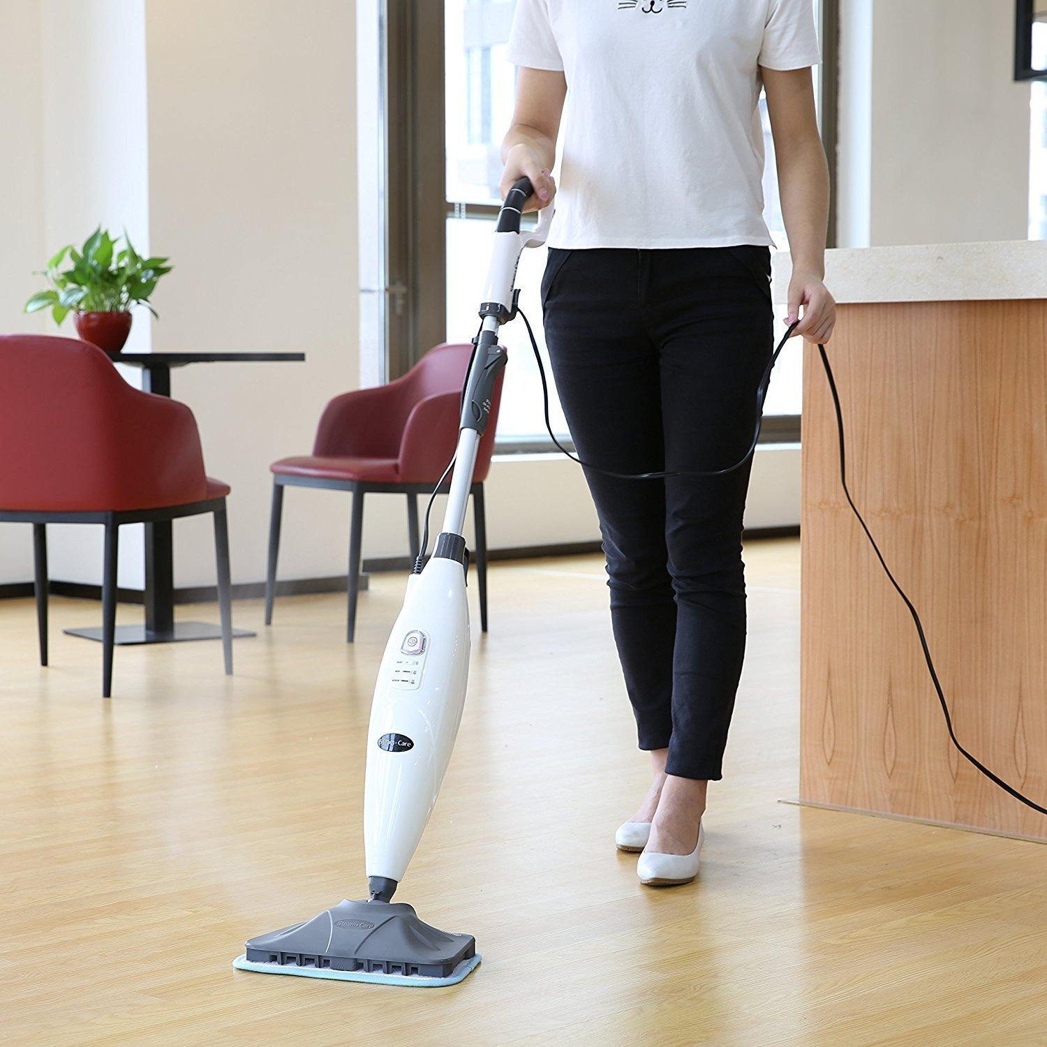 INLIFE Steam Mop with Adjustable SteamReview