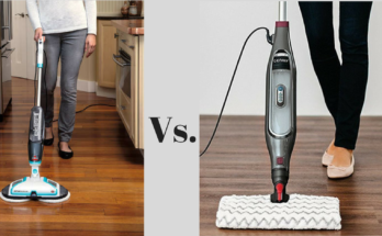 Bissell SpinWave vs Shark Genius Steam Mop